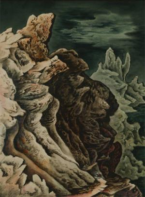 "Vance Hall Kirkland, ""The Pack Trip, No. 15"", watercolor, 1942"