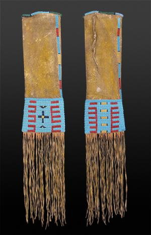 Tobacco Bag, Sioux, classic period 19th century Native American Indian antique vintage art for sale purchase auction consign denver colorado art gallery museum