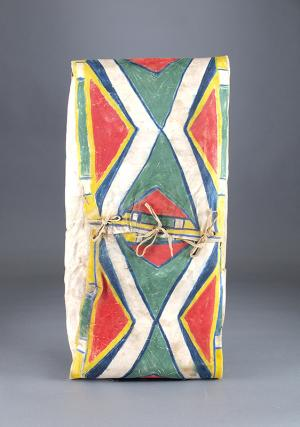 parfleche Envelope, Plateau, circa  1890 native american indian art for sale purchase consign sell auction art gallery museum denver colorado