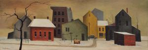 "William Sanderson, ""Untitled (February Morning)"", oil, circa 1956"
