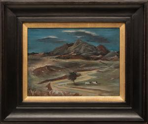 "Arnold Blanch, ""Dead River"", oil painting, circa 1940 for sale purchase consign auction denver Colorado art gallery museum"
