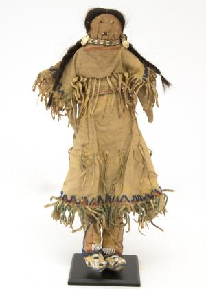 Doll, Cheyenne, last quarter of the 19th century Native American Indian antique vintage art for sale purchase auction consign denver colorado art gallery museum