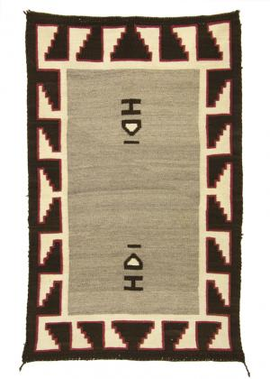 Double Saddle Blanket, Navajo, 20th century 19th century Native American Indian antique vintage art for sale purchase auction consign denver colorado art gallery museum