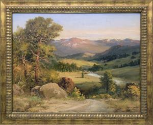 "Robert W. Wood, ""Estes Park, Colorado"", oil, circa 1935"