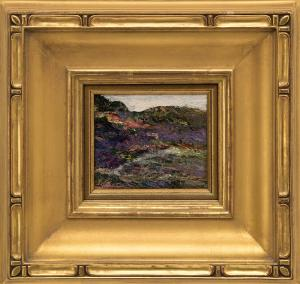 "Ernest Lawson, ""Untitled (Landscape)"", oil painting fine art for sale purchase buy sell auction consign denver colorado art gallery museum"