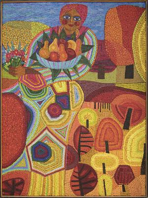 """Edward Marecak, """"Demeter"""" 1970  oil painting fine art for sale purchase buy sell auction consign denver colorado art gallery museum"""