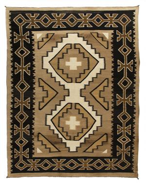 vintage Navajo Rug crystal trading post 1920  19th century Native American Indian antique vintage art for sale purchase auction consign denver colorado art gallery museum