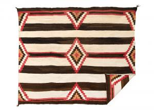 Chief's Blanket, Navajo, circa 1900
