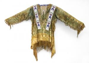 War Shirt, Sioux, circa 1880's 19th century Native American Indian antique vintage art for sale purchase auction consign denver colorado art gallery museum