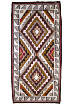 Navajo Teec Nos Pos Trading Post Rug vintage circa 1910 early 20th century Native American Indian antique vintage art for sale purchase auction consign denver colorado art gallery museum