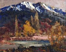 Fremont Ellis, oil, c. 1945