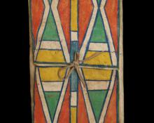 Native American Indian Parfleche envelope for sale circa 1890