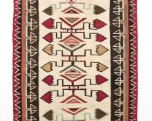 Navajo Teec Nos Pos Trading Post Rug textile weaving Native American Indian antique vintage art for sale purchase auction consign denver colorado art gallery museum