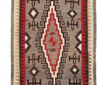 Regional Rug, Navajo, circa 1930 ganado vintage trading post for sale purchase auction consign art gallery denver colorado
