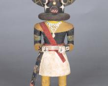 Kachina, Hopi, circa 1930, Ho-ote  for sale purchase consign auction art gallery museum denver