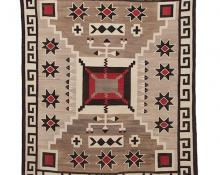 J.B. Moore Crystal Trading Post rug navajo vintage antique for sale purchase consign sell auction art gallery museum denver colorado