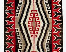 Regional Rug, Navajo, circa 1940 Crystal Trading post vintage southwestern textile for sale purchase