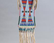 crow mirror bag antique native american indian beadwork for sale purchase 19th century 1890