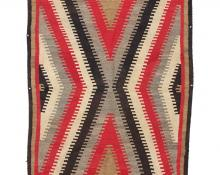 Ganado Trading Post Regional Rug, Navajo, circa 1930, vintage old for sale purchase buy auction