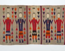 Pictorial Weaving, Navajo, circa 1950 southwest yeibichai rug native american indian for sale purchase buy art gallery trading post