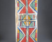 Parfleche Envelope, Plateau, circa 1880 native american indian antique for sale purchase consign sell auction art gallery museum denver colorado