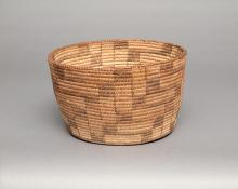 vintage basketry bowl papago southwest 19th century Native American Indian antique vintage art for sale purchase auction consign denver colorado art gallery museum