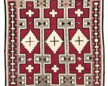 Ganado Trading Post rug 19th century Native American Indian antique vintage art for sale purchase auction consign denver colorado art gallery museum