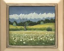 """Angelo Di Benedetto, """"Untitled (Colorado)"""", oil painting fine art for sale purchase buy sell auction consign denver colorado art gallery museum"""