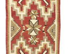 Pictorial Weaving, Navajo rug, circa 1925, 19th century Native American Indian antique vintage art for sale purchase auction consign denver colorado art gallery museum