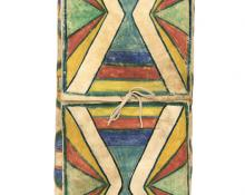 Parfleche Envelope, Plateau, circa 1880 19th century Native American Indian antique vintage art for sale purchase auction consign denver colorado art gallery museum