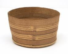 basketry Bowl, Tlingit, first quarter of the twentieth century northwest coast 19th century Native American Indian antique vintage art for sale purchase auction consign denver colorado art gallery museum