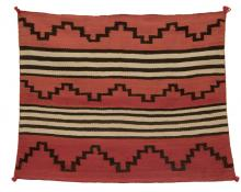 Chief's Blanket childs, Navajo, circa 1880 19th century Native American Indian antique vintage art for sale purchase auction consign denver colorado art gallery museum