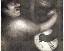 "Arthur George Murphy, ""La Cucaracha"", lithograph, 1935"