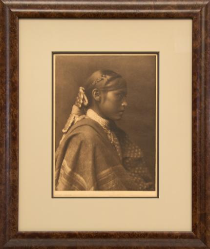 "Edward Sheriff Curtis, ""Sigesh - Apache"", photogravure, 1903 North American Indian Portfolio photography Vanishing Race"