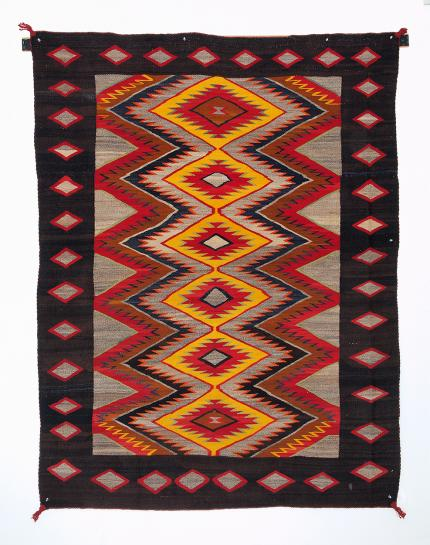 Navajo Regional/Pan Reservation Trading Post rug textile vintage for sale purchase