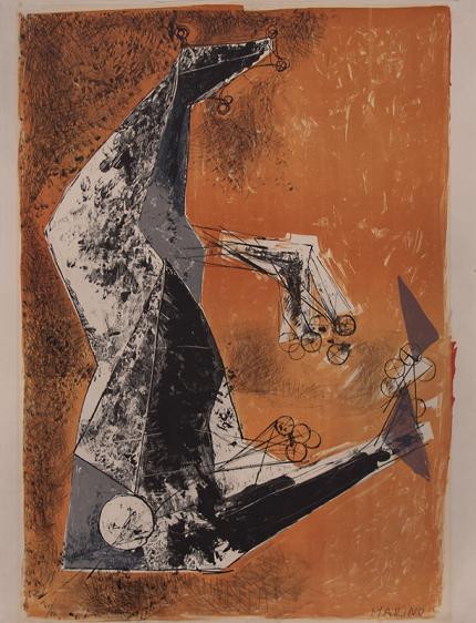 "Marino Marini, ""Il Miracolo (The Miracle); 41 of 50"", lithograph, circa 1965 painting fine art for sale purchase buy sell auction consign denver colorado art gallery museum"