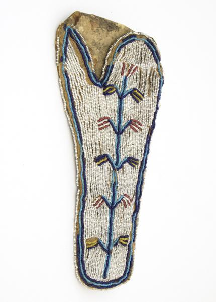 Holster, Sioux plains, circa 1890 19th century Native American Indian antique vintage art for sale purchase auction consign denver colorado art gallery museum
