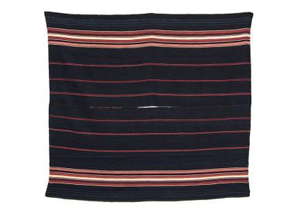 Poncho, Mesoamerican, mid 19th century Bolivia Aymara Culture Camelid wool