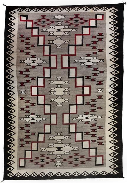 Trading Post Rug, Navajo, first quarter of the 20th century