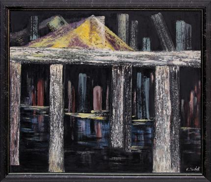 "Ruth Todd, ""Untitled"", oil painting fine art for sale purchase buy sell auction consign denver colorado art gallery museum"