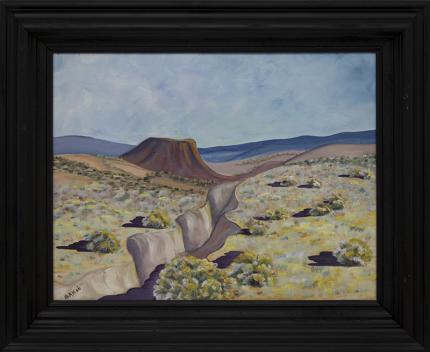 """Jozef Bakos, """"Near Taos (New Mexico)"""", oil painting fine art for sale purchase buy sell auction consign denver colorado art gallery museum"""