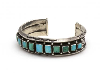 Navajo cuff bracelet old pawn turquoise mens womens native american jewelry for sale