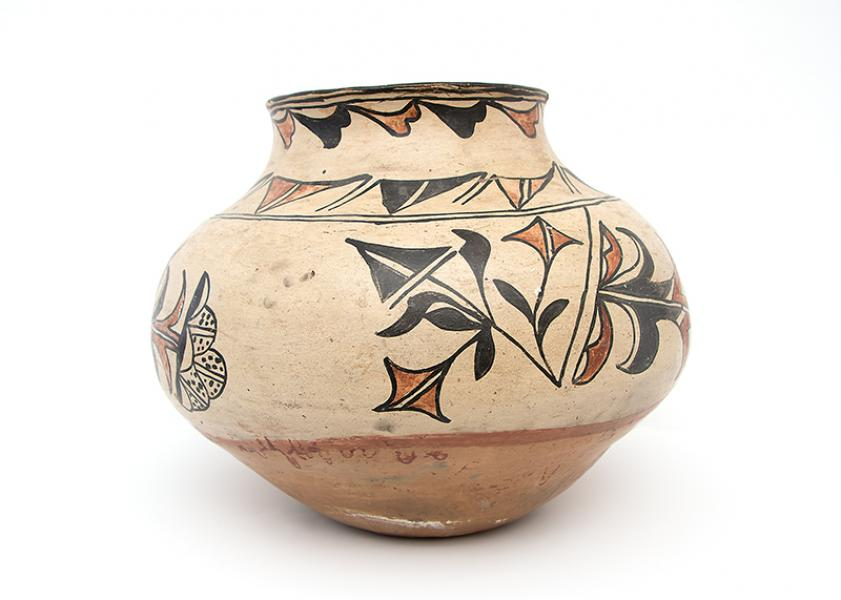 Pueblo pottery southwest antique large
