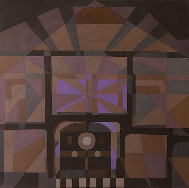 Margo Hoff woman artist women abstract expressionist expressionism mid-twentieth century modern