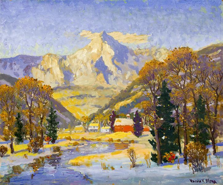 harold vincent skene landscape painting