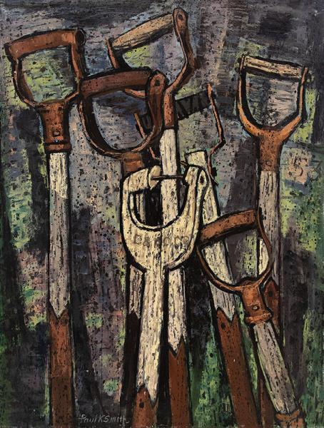 Paul Kauvar Smith modernist painting